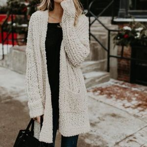 Sweaters - Cardigan with pockets
